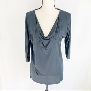 NWT Ann Taylor Scoop Neck Shirt